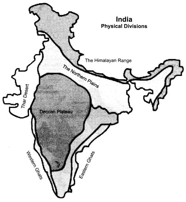 RBSE Solutions for Class 9 Social Science Chapter 12 Physical Features of India 1