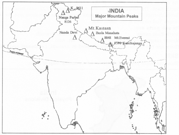 RBSE Solutions for Class 9 Social Science Chapter 12 Physical Features of India 2