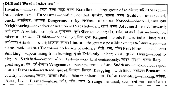 RBSE Solutions for Class 8 English Chapter 6 The Brave Lady of Rajasthan