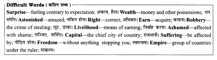 RBSE Solutions for Class 8 English Chapter 8 Chanakya the Great 1