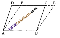 RBSE Solutions for Class 9 Maths Chapter 10 Area of Triangles and Quadrilaterals Ex 10.1