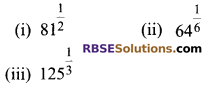 RBSE Solutions for Class 9 Maths Chapter 2 Number System Ex 2.3