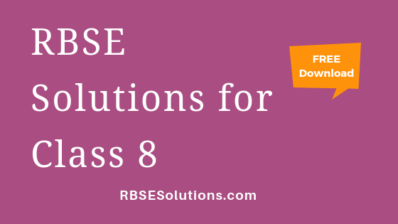 RBSE Solutions for Class 8