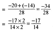 RBSE Solutions for Class 8 Maths Chapter 1 परिमेय संख्याएँ In Text Exercise image 11a