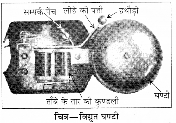 RBSE Solutions for Class 8 Science Chapter 11 विद्युत धारा के प्रभाव 1
