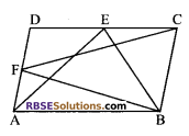 RBSE Solutions for Class 9 Maths Chapter 10 Area of Triangles and Quadrilaterals Additional Questions - 29