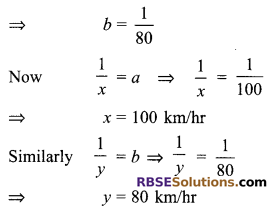 RBSE Solutions for Class 9 Maths Chapter 4 Linear Equations in Two Variables Ex 4.4