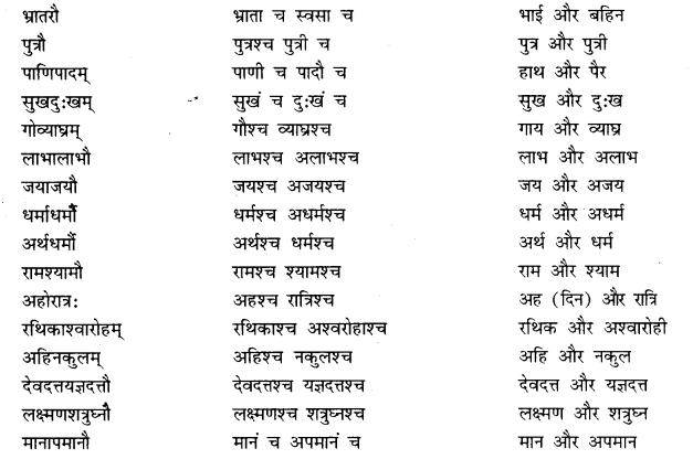 RBSE Class 10 Sanskrit व्याकरणम् समासः image 15b