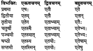 RBSE Class 6 Sanskrit परिशिष्टम् 20
