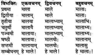 RBSE Class 6 Sanskrit परिशिष्टम् 3