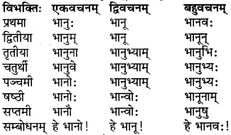 RBSE Class 6 Sanskrit परिशिष्टम् 8