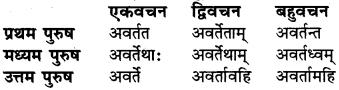 RBSE Class 6 Sanskrit व्याकरण धातु-रूपम् 44