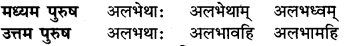 RBSE Class 6 Sanskrit व्याकरण धातु-रूपम् 50