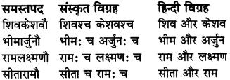 RBSE Class 6 Sanskrit व्याकरण समास 11