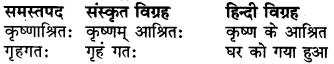 RBSE Class 6 Sanskrit व्याकरण समास 1
