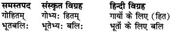 RBSE Class 6 Sanskrit व्याकरण समास 4