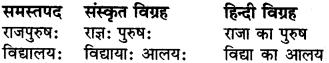 RBSE Class 6 Sanskrit व्याकरण समास 6