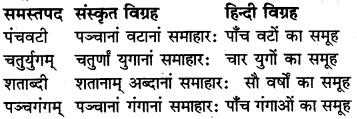 RBSE Class 6 Sanskrit व्याकरण समास 9