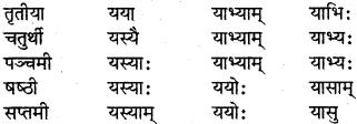 RBSE Class 7 Sanskrit परिशिष्टम् 16