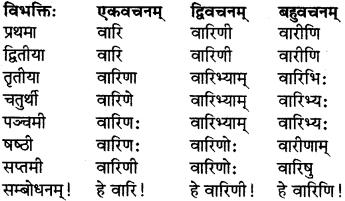 RBSE Class 7 Sanskrit परिशिष्टम् 2