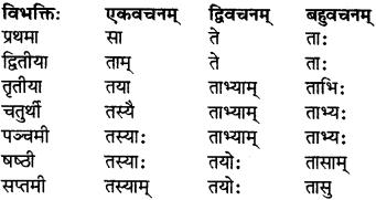 RBSE Class 7 Sanskrit परिशिष्टम् 5