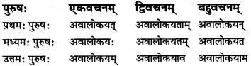 RBSE Class 7 Sanskrit परिशिष्टम् 58