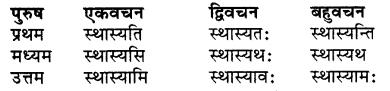 RBSE Class 7 Sanskrit व्याकरण शब्द रूप प्रकरणम् 61