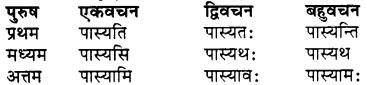 RBSE Class 7 Sanskrit व्याकरण शब्द रूप प्रकरणम् 66