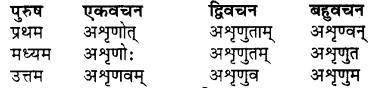 RBSE Class 7 Sanskrit व्याकरण शब्द रूप प्रकरणम् 76