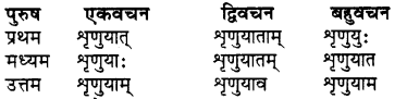 RBSE Class 7 Sanskrit व्याकरण शब्द रूप प्रकरणम् 79