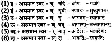 RBSE Class 7 Sanskrit व्याकरण सन्धि प्रकरणम् 7