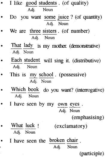 RBSE Class 8 English Vocabulary Suitable Words 2