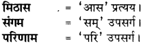 RBSE Class 8 Hindi व्याकरण प्रत्यय 2