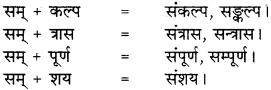 RBSE Class 8 Hindi व्याकरण सन्धि 1