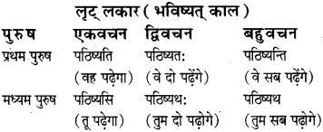 RBSE Class 8 Sanskrit व्याकरण धातु-रूपाणि - 2
