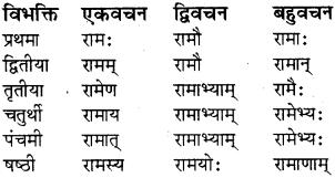 RBSE Class 8 Sanskrit व्याकरण संज्ञा शब्द 4
