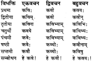 RBSE Class 8 Sanskrit व्याकरण संज्ञा शब्द 6