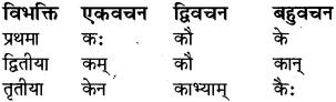 RBSE Class 8 Sanskrit व्याकरण सर्वनाम शब्द 5