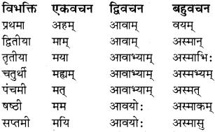 RBSE Class 8 Sanskrit व्याकरण सर्वनाम शब्द 7