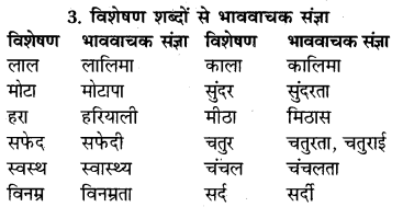 RBSE Class 9 Hindi व्याकरण संज्ञा 4