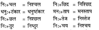 RBSE Class 9 Hindi व्याकरण सन्धि 10