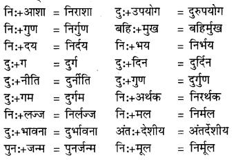 RBSE Class 9 Hindi व्याकरण सन्धि 13