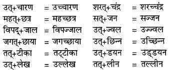 RBSE Class 9 Hindi व्याकरण सन्धि 7