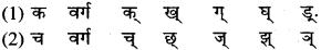 RBSE Class 9 Sanskrit व्याकरण उच्चारणस्थानानि 1