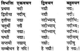 RBSE Class 9 Sanskrit व्याकरण रूप-प्रकरणम् 12