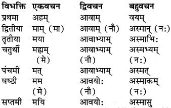 RBSE Class 9 Sanskrit व्याकरण रूप-प्रकरणम् 26