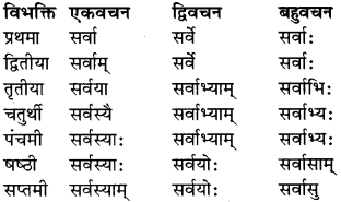RBSE Class 9 Sanskrit व्याकरण रूप-प्रकरणम् 33