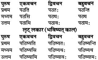 RBSE Class 9 Sanskrit व्याकरण रूप-प्रकरणम् 45