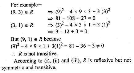 RBSE Solutions for Class 11 Maths Chapter 2 Relations and Functions Miscellaneous Exercise 10
