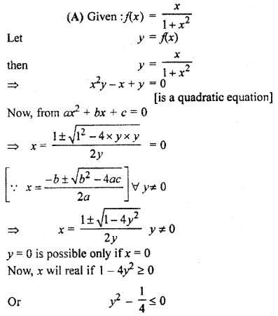 RBSE Solutions for Class 11 Maths Chapter 2 Relations and Functions Miscellaneous Exercise 5